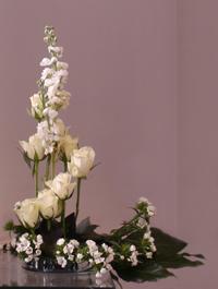 Witte huwelijksschikking 2 DSC03884 -2kopie 200x265