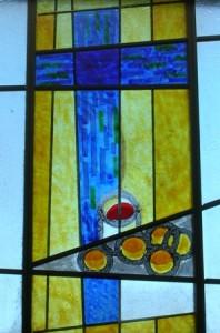 kerkraam maranathakerk lunteren, brrod,wijn en het kruis