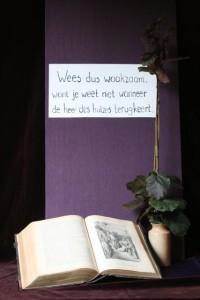 Aankondigingen 2e advent Marcus 13: 35-36