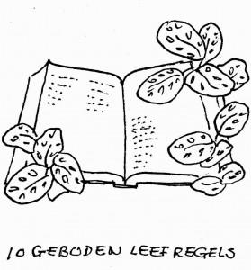 de bijbel open 4 geboden